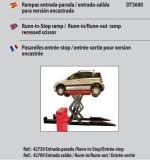 JUEGO DE 4 RAMPAS EXTENSIBLES DE ENTRADA/SALIDA PARA ELEVADOR DT3600E