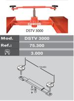 KIT DOBLE SOPORTE PARA GATO TV-3000 3TN. ELEVADORES 4 COLUM C-4