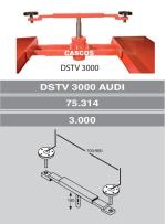 KIT GATO BRAZO EXTENSIBLE TV-3000 MODELO AUDI