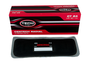 10 PARCHES RADIALES 215*75 MM CT-24