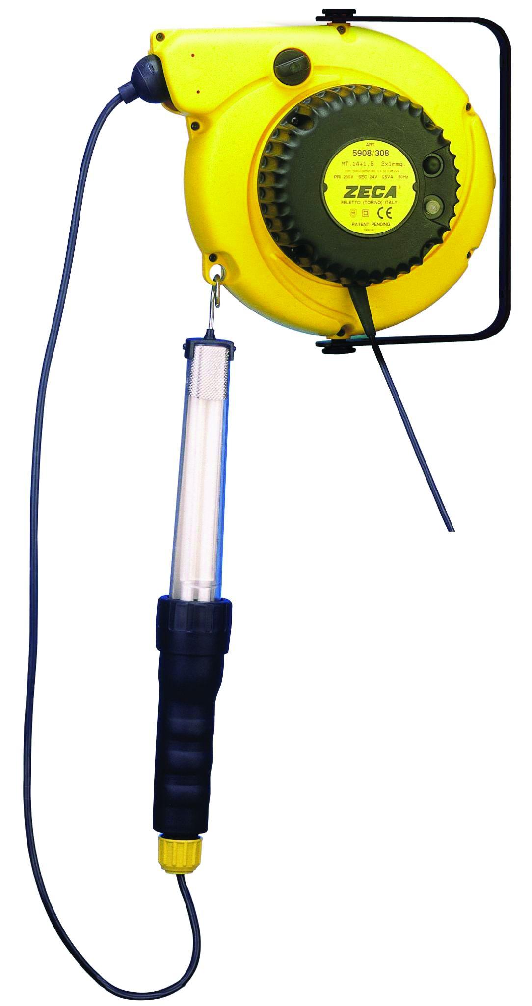 Aspiradora 12 V para coche longitud de cable 4,2 M con lámpara de búsqueda turismos