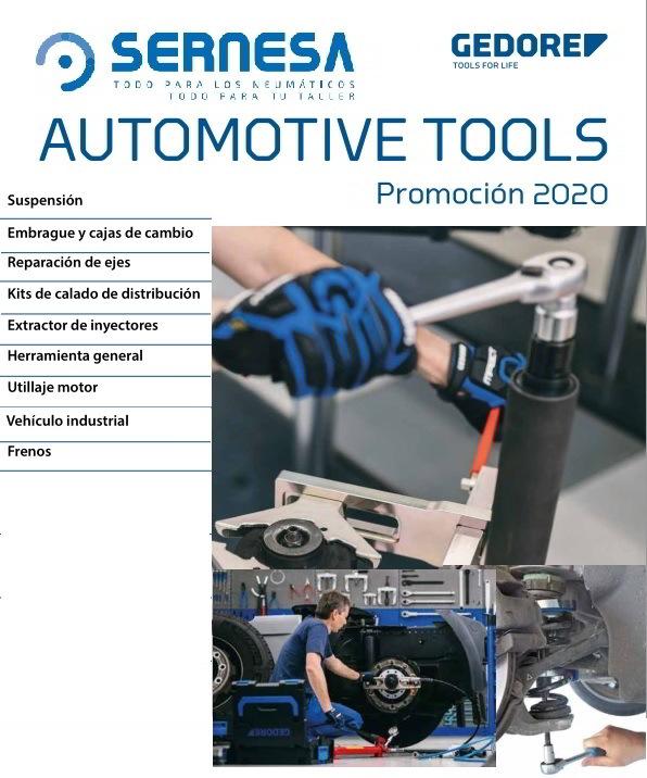 herramientas reparacion vehiculos gedore promocion
